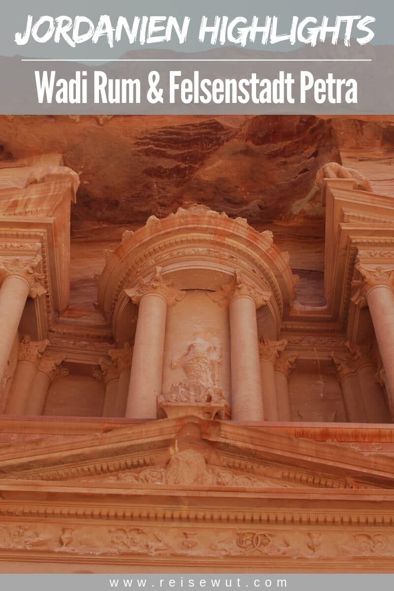 Pinterest Pin | Jordanien Reise Highlights