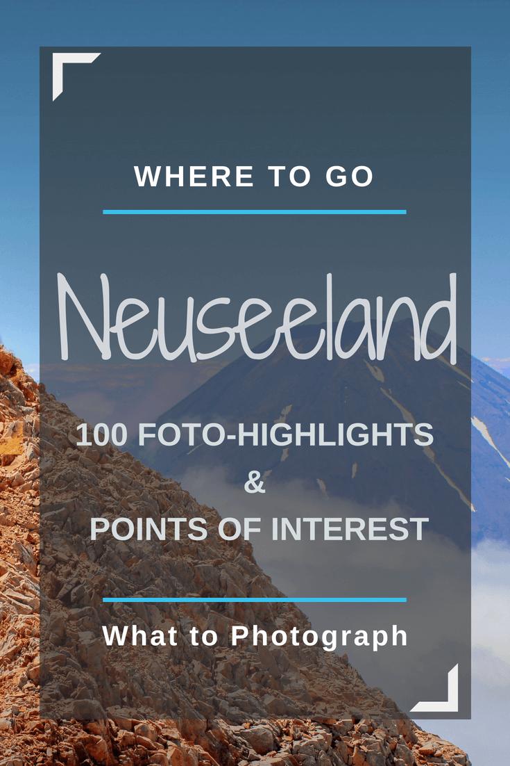 Neuseeland Rundreise Sehenswürdigkeiten | Pinterest