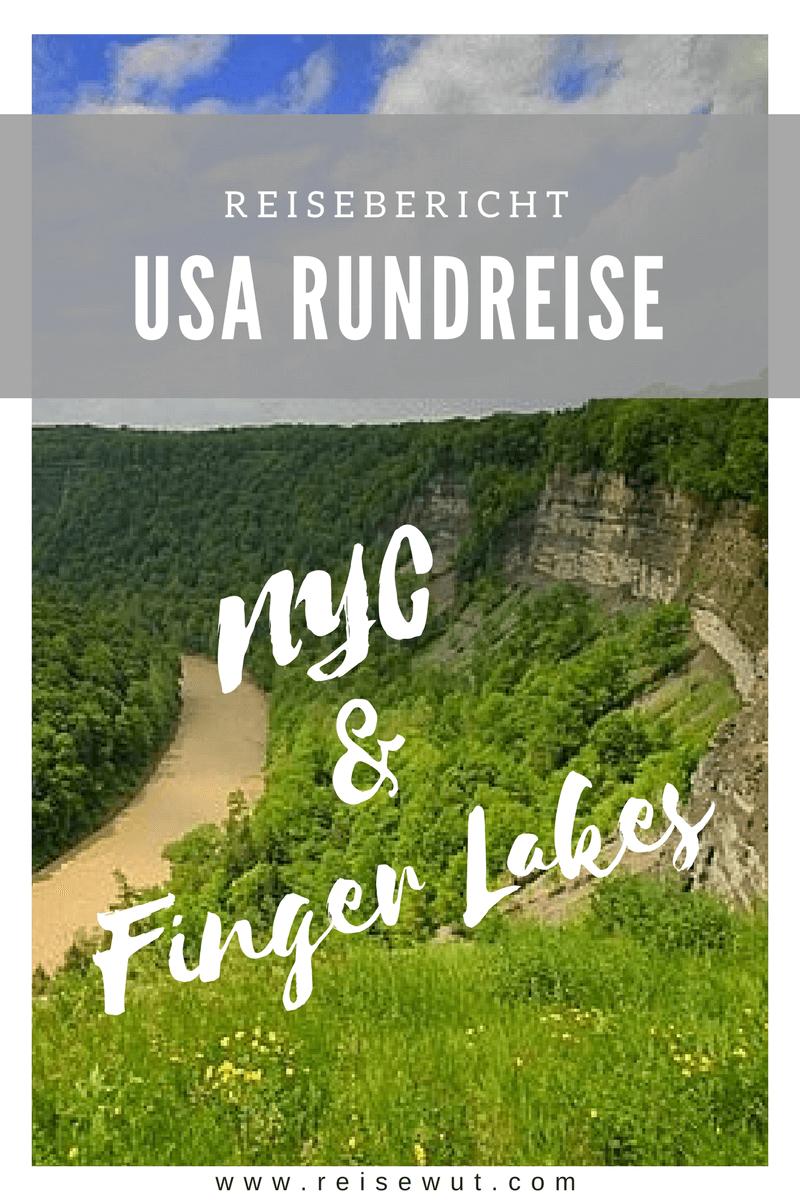 Reisebericht NYC & Finger Lakes   Pinterest Pin