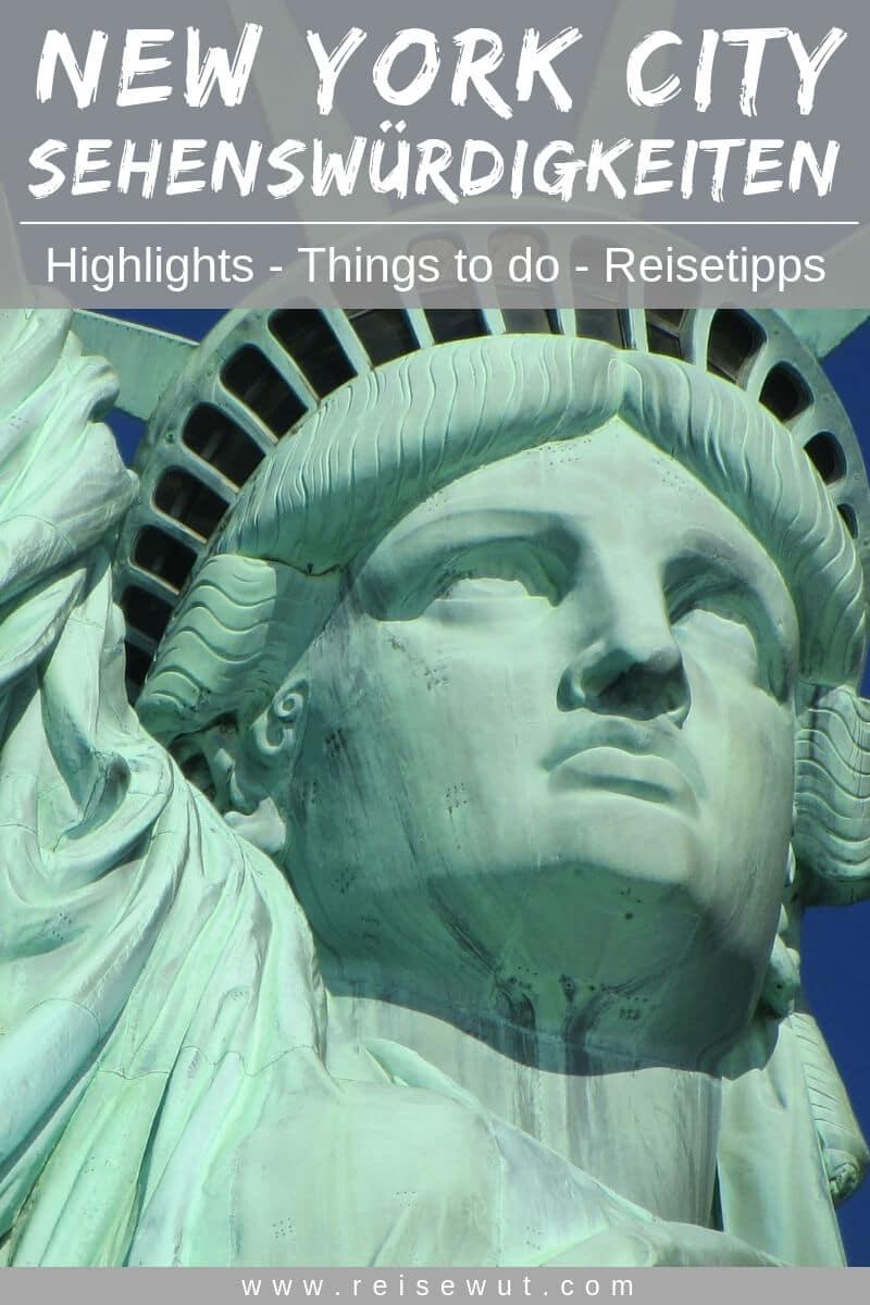 New York Sehenswürdigkeiten | Pinterest Pin