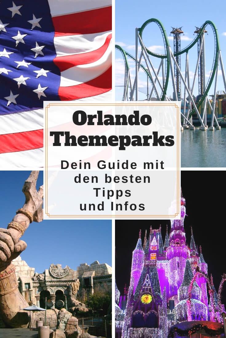 Orlando Freizeitparks | Pinterest Pin