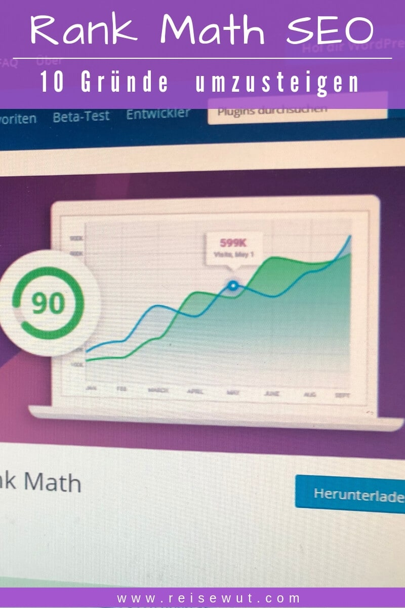 Rank Math SEO - Pinterest Pin