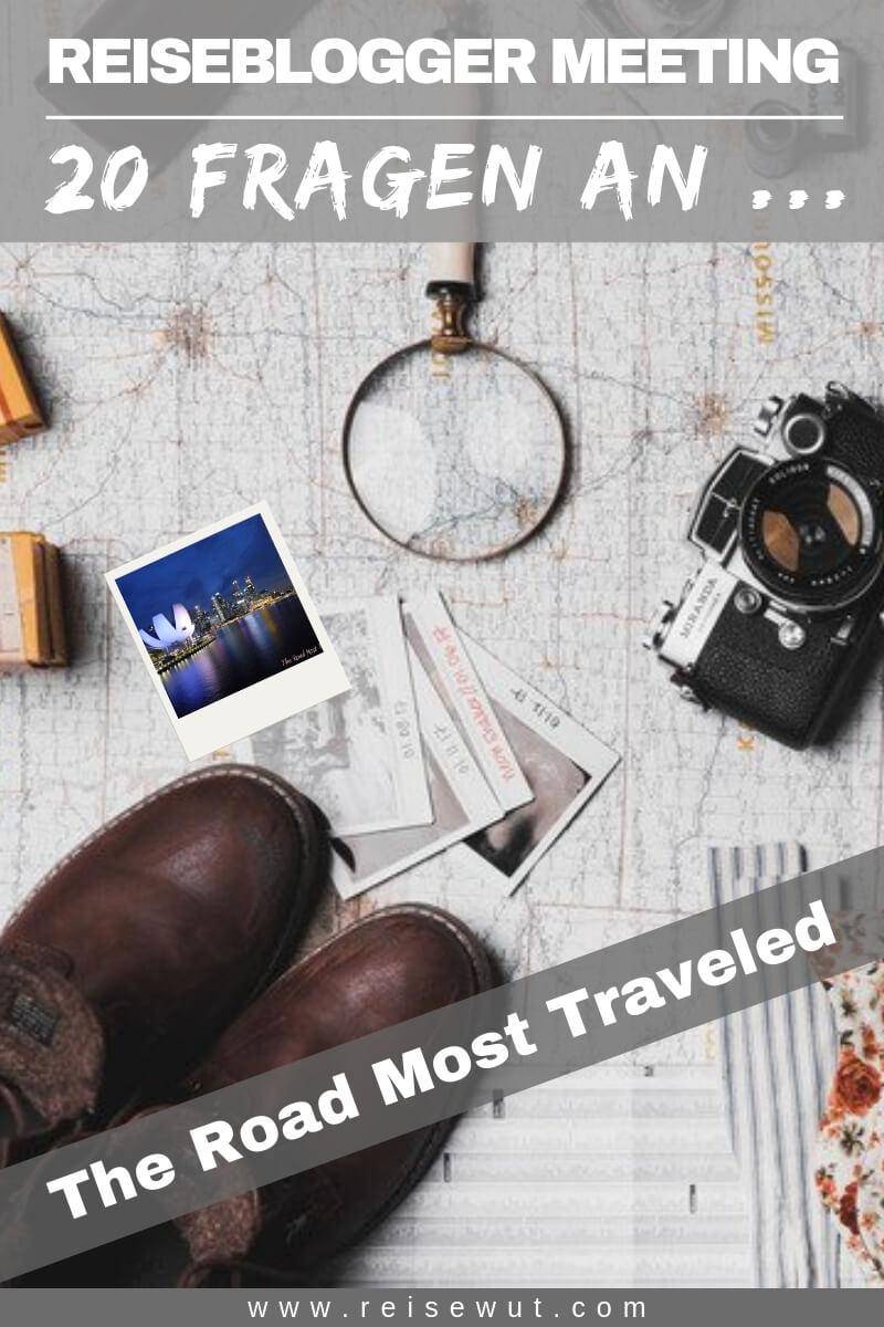 Reiseblogger Meeting The Road Most Traveled - Pinterest Pin