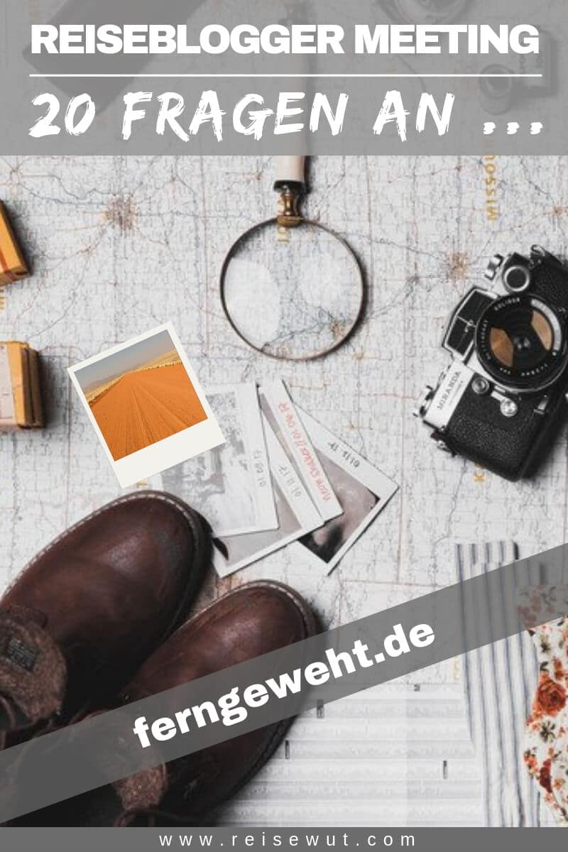 Reiseblogger Meeting ferngeweht.de - Pinterest Pin