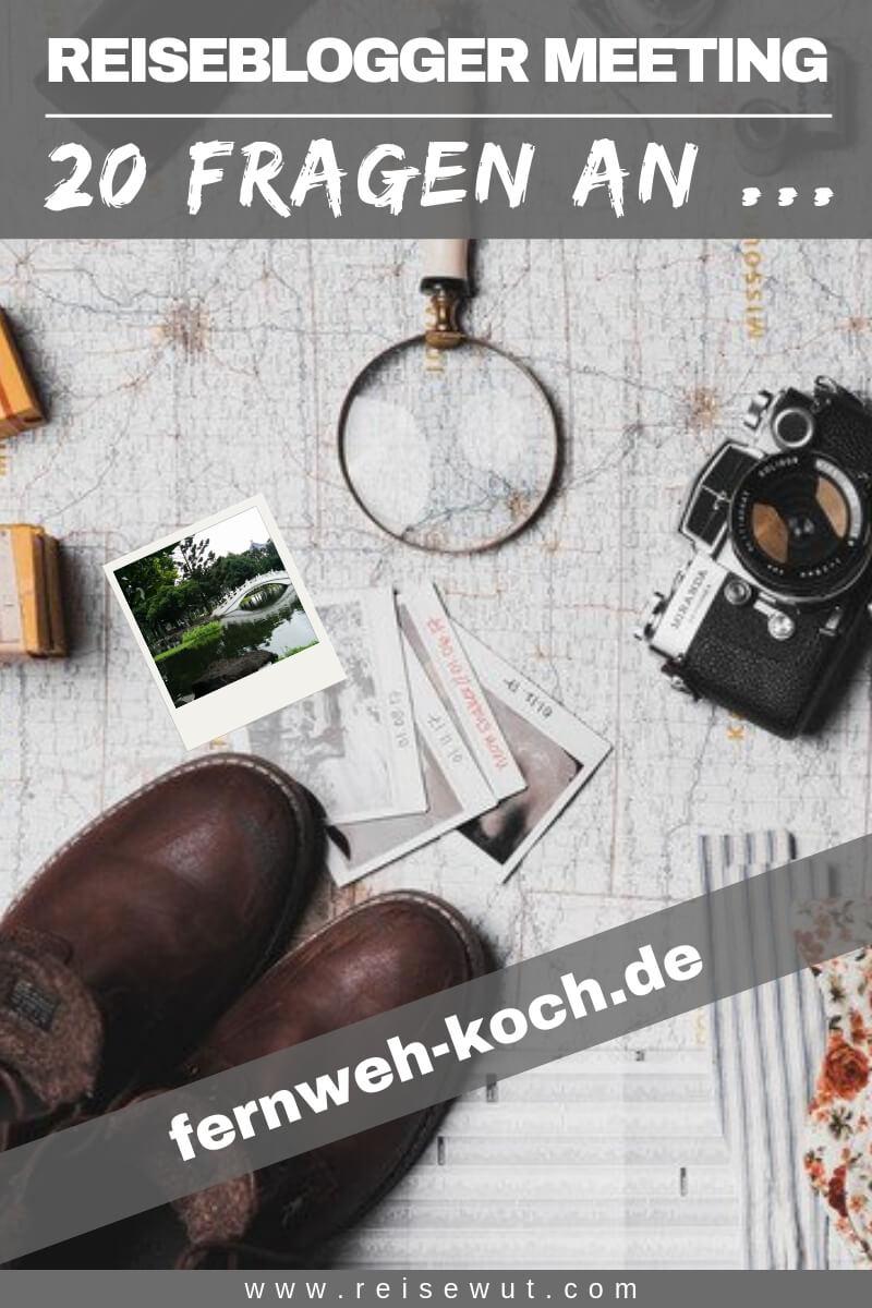Reiseblogger Meeting fernweh-koch - Pinterest Pin