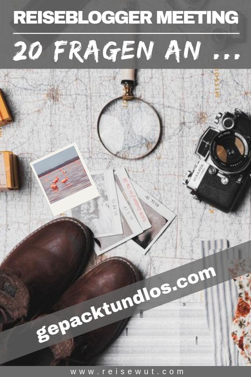Pinterest Pin | Blogger Meeting Gepacktundlos
