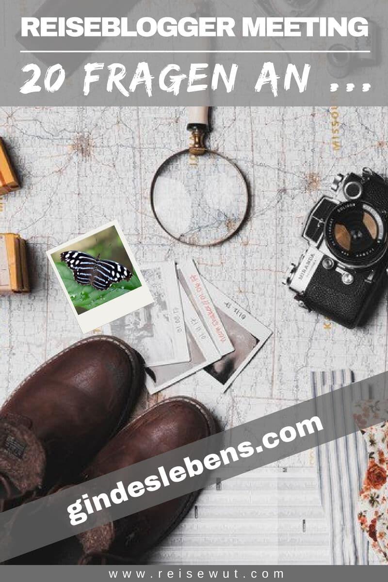 Reiseblogger Meeting gindeslebens