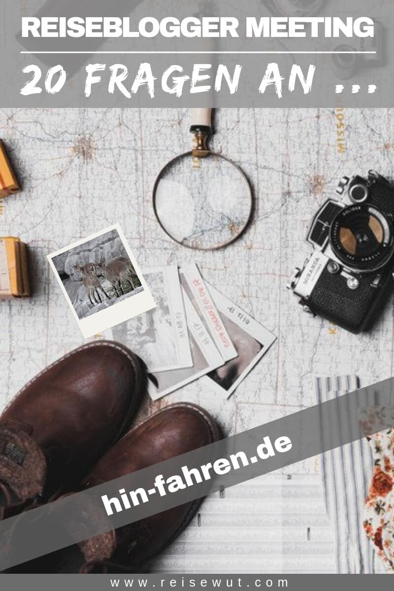 Reiseblogger Meeting hin-fahren.de - Pinterest Pin