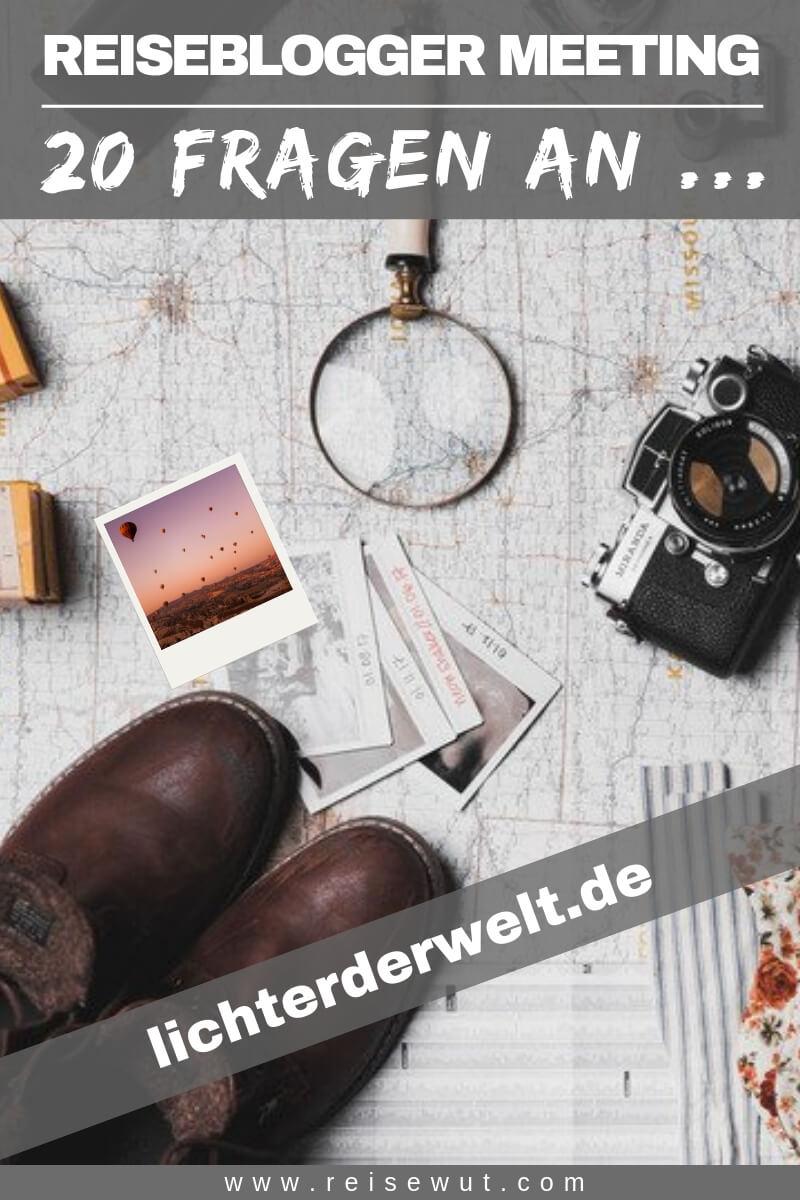 Reiseblogger Meeting lichterderwelt - Pinterest Pin