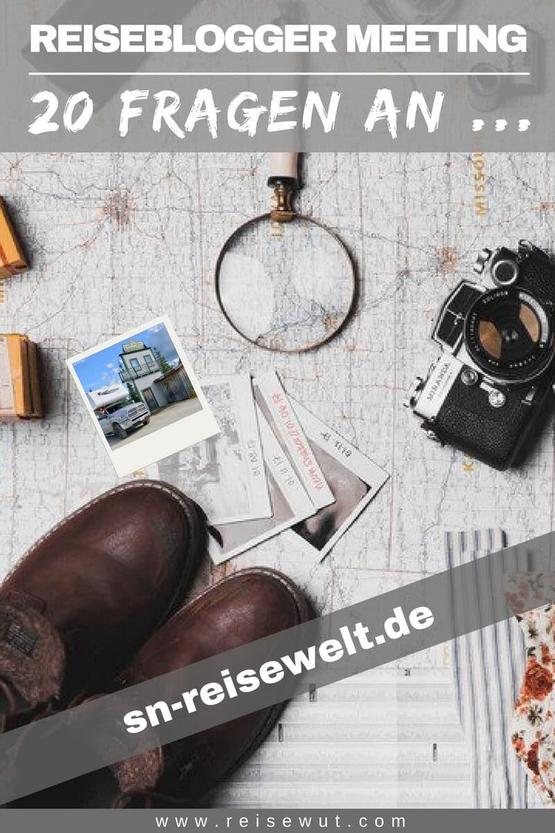 Reiseblogger Meeting sn-reisewelt.de - Pinterest