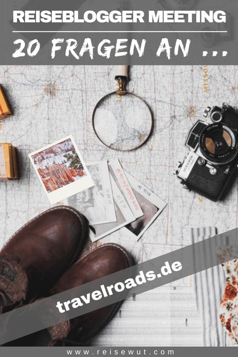 Pinterest Pin | Blogger Meeting travelroads