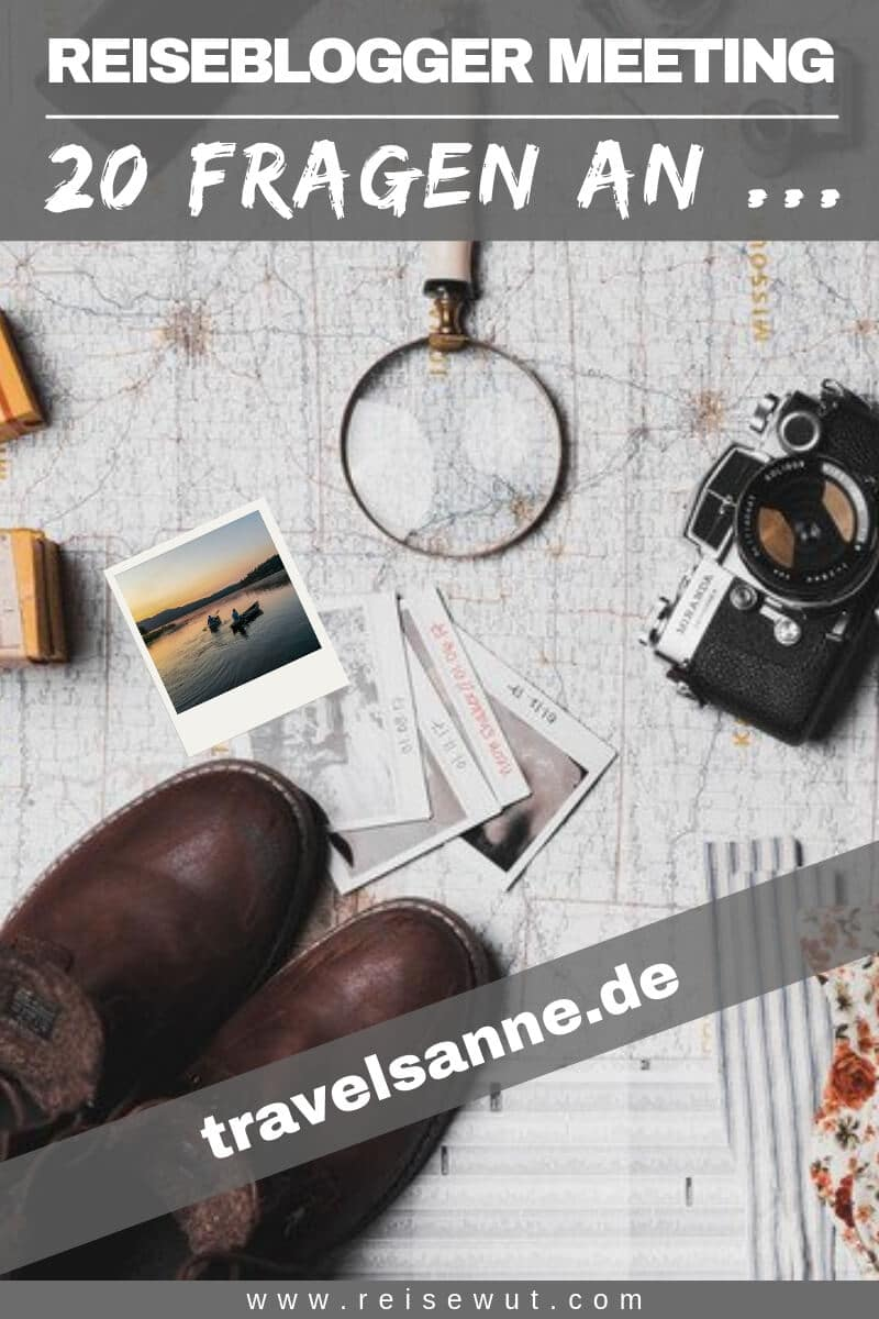 Reiseblogger Meeting travelsanne - Pinterest Pin