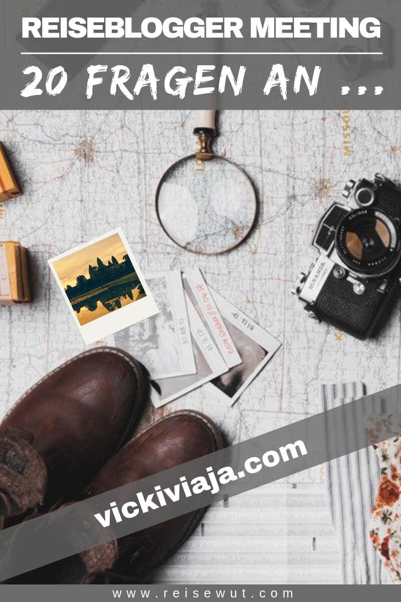 Pinterest Pin | Blogger Meeting vickiviaja