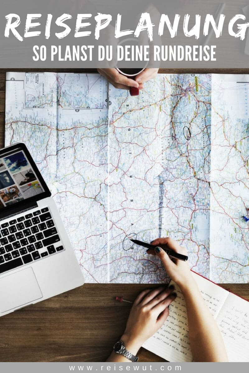 Pinterest Pin | Reiseplanung