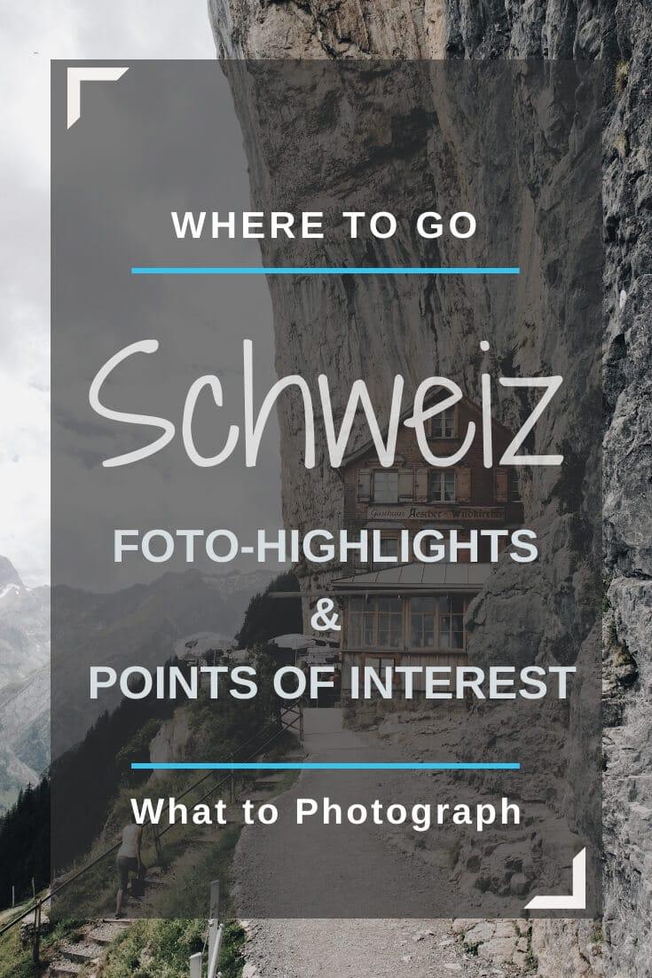Schweiz Sehenswürdigkeiten | Pinterest
