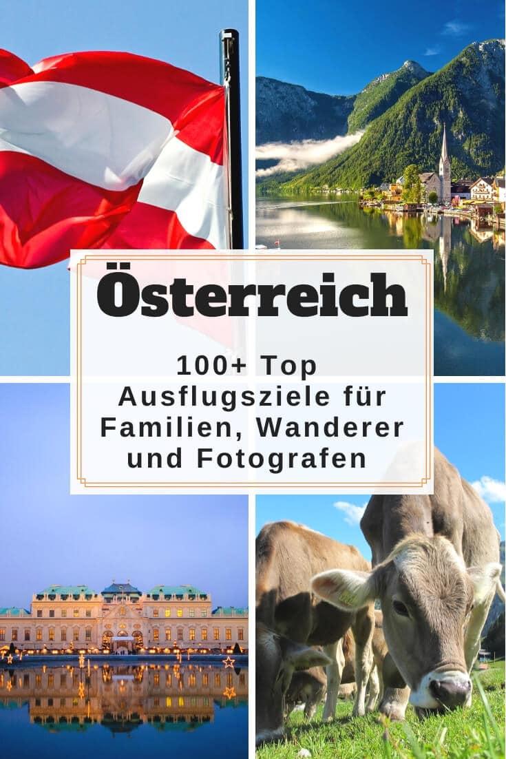 Sehenswürdigkeiten in Österreich + Karte | Pinterest