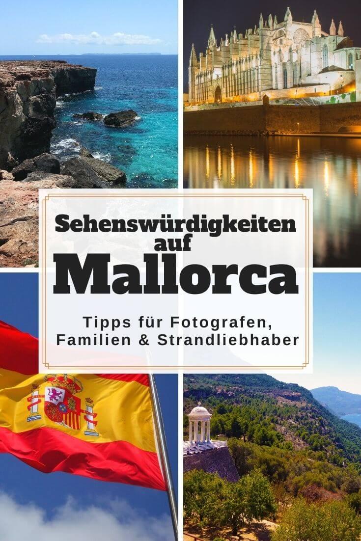 Sehenswürdigkeiten auf Mallorca   Pinterest Pin