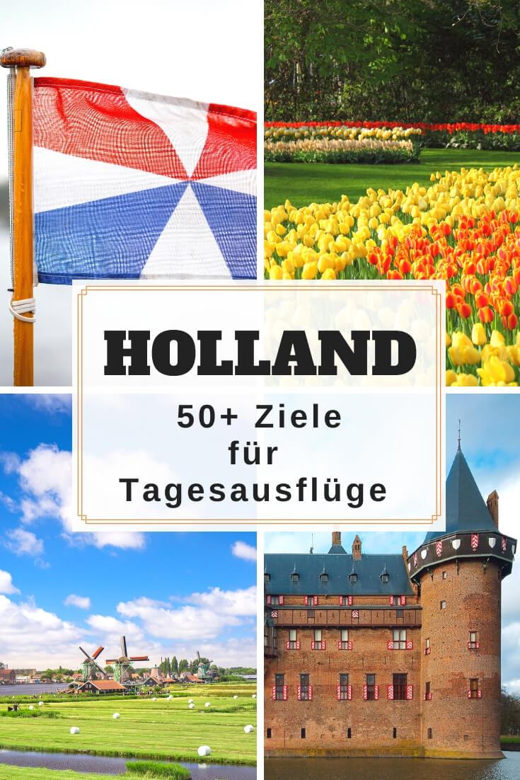 Sehenswürdigkeiten in Holland + Karte | Pinterest