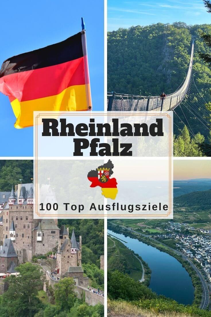 Sehenswürdigkeiten in Rheinland-Pfalz - Pinterest Pin