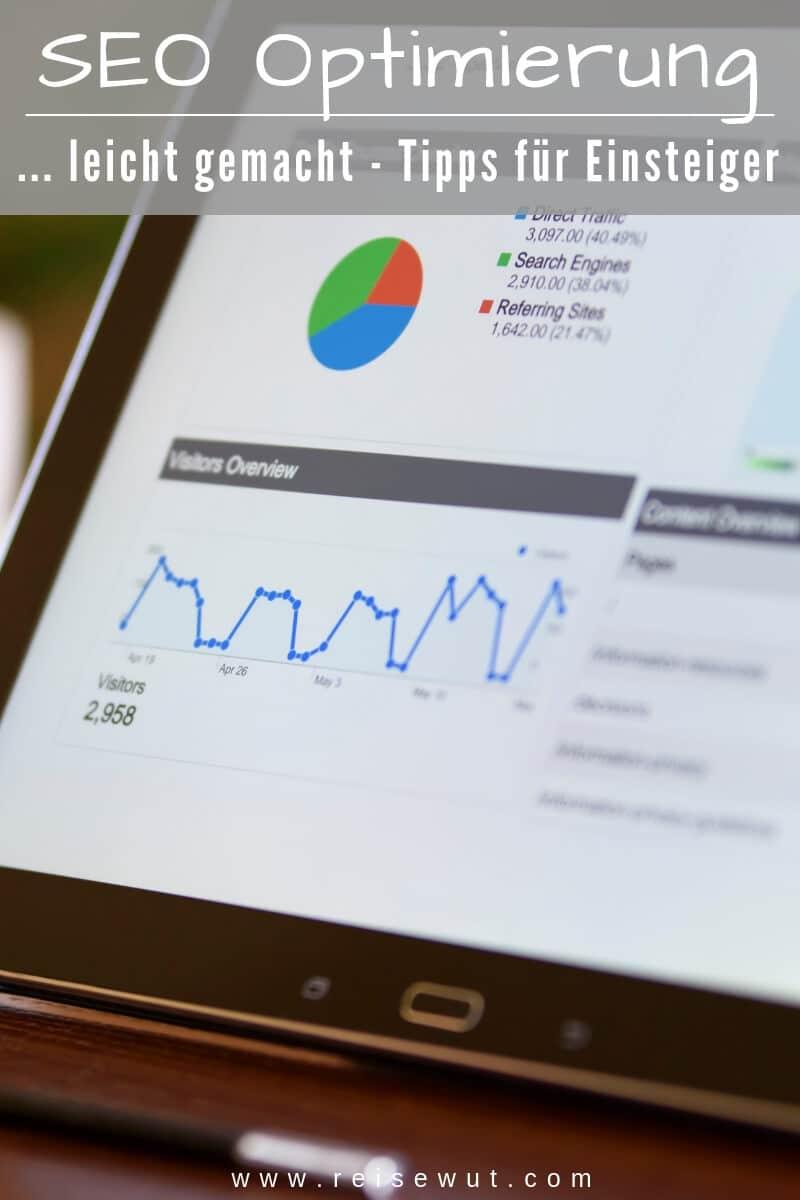 Pinterest Pin | SEO Optimierung leicht gemacht