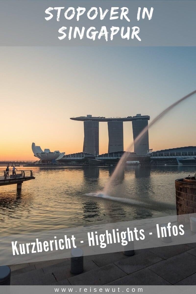 Singapur Stopover | Pinterest Pin