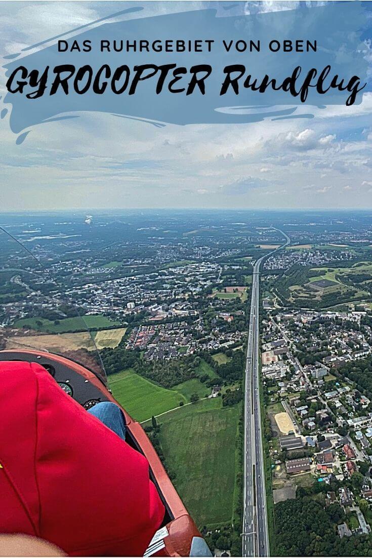 Pinterest | Tragschrauber Rundflug über das Ruhrgebiet