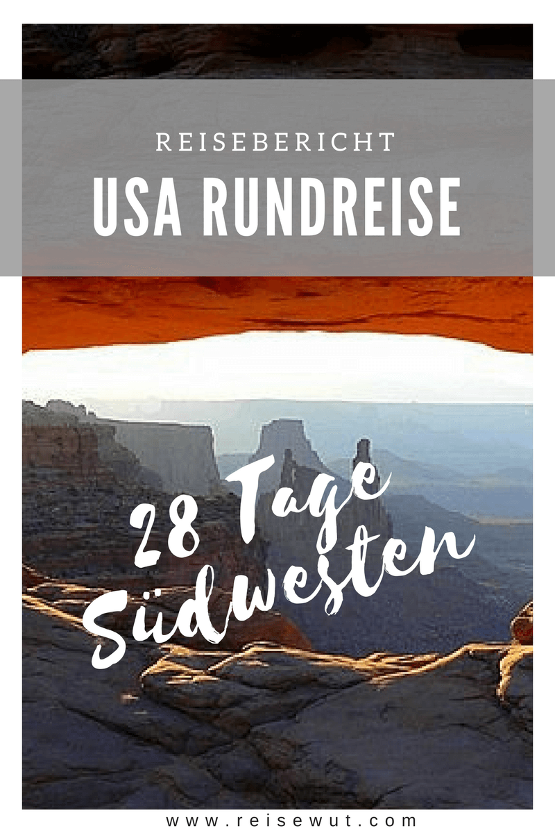 USA Rundreise | Pinterest Pin