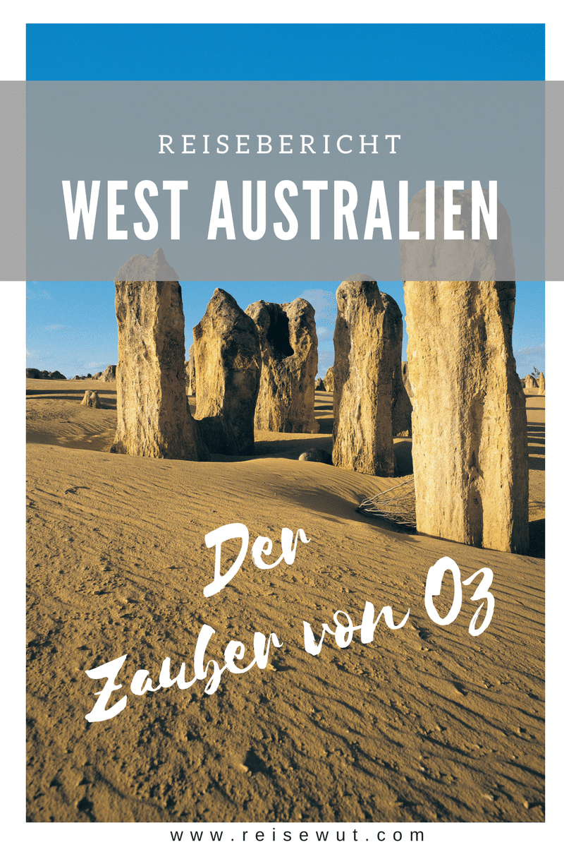 Westaustralien Rundreise | Pinterest Pin