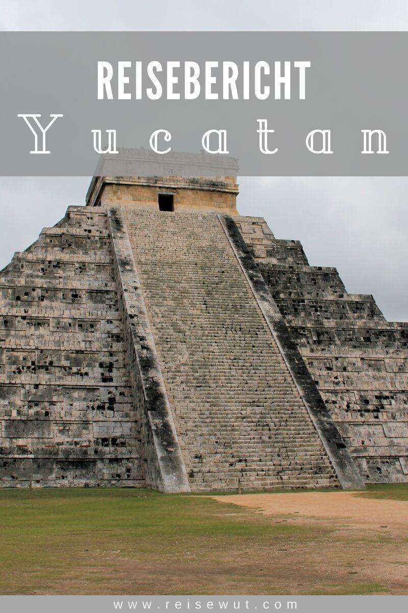 Yucatan Reisebericht | Pinterest Pin