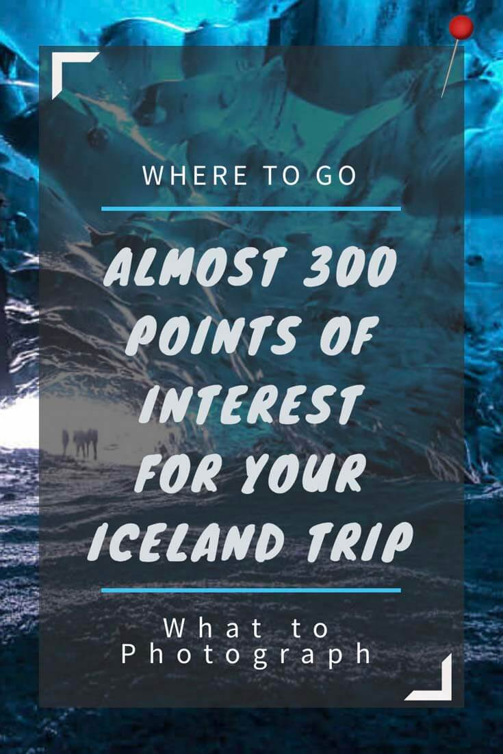 Island Karte mit über 300 Points of Interest - Pinterest
