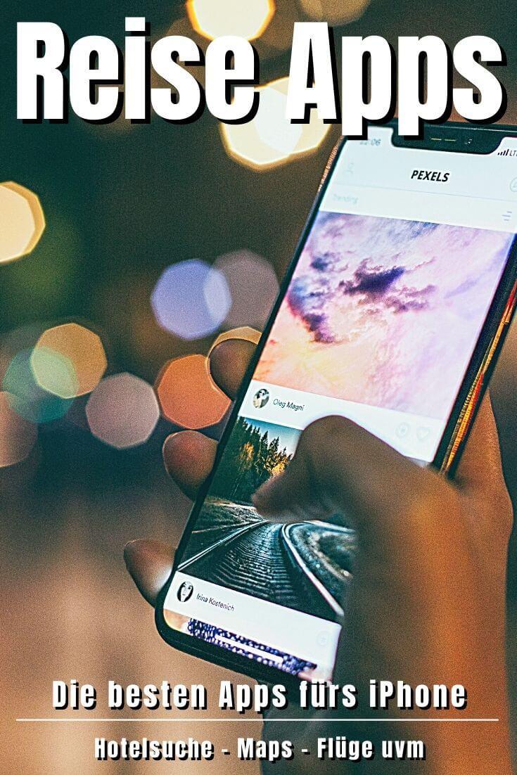 Die 28 besten Reise Apps | Pinterest Pin