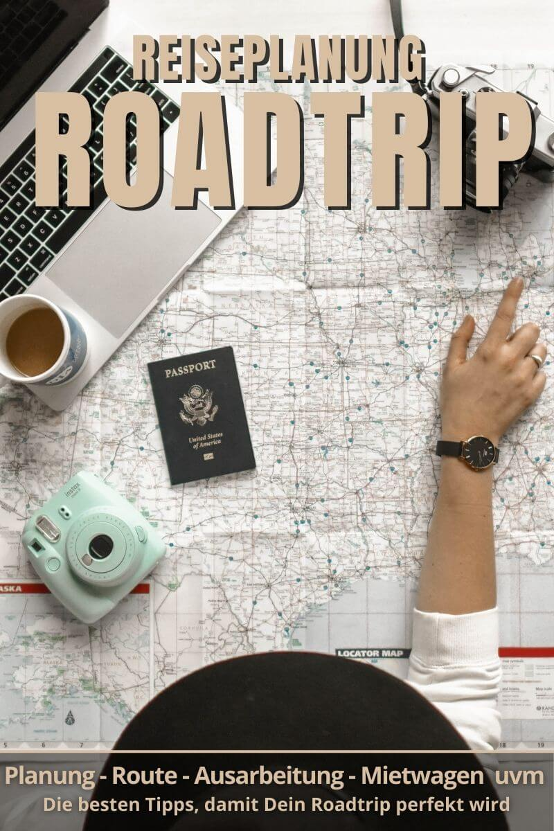 Roadtrip Reiseplanung | Pinterest Pin