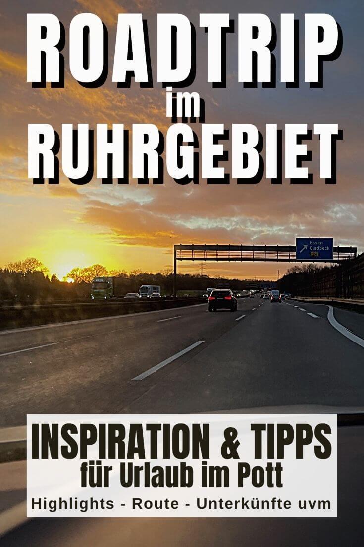 Pinterest Pin | Roadtrip im Ruhrgebiet