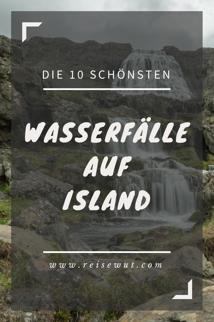 Wasserfälle in Island | Pinterest Pin