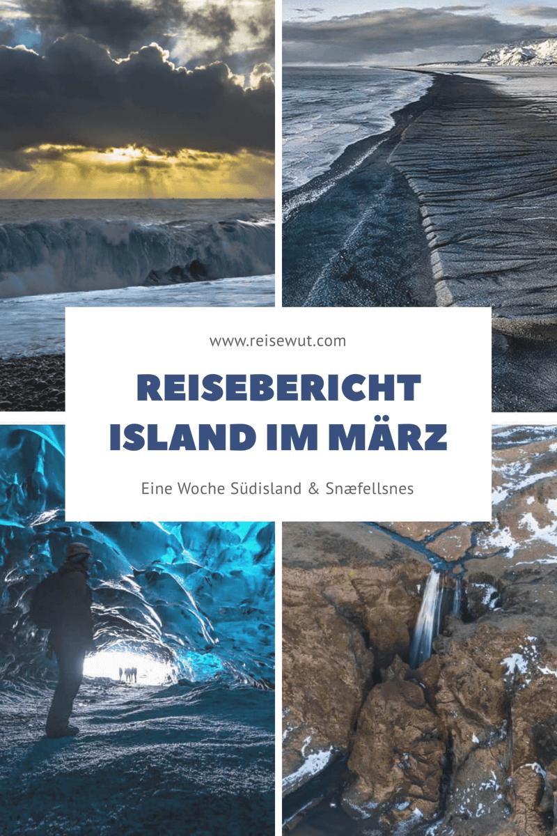 Island im März - Pinterest Pin