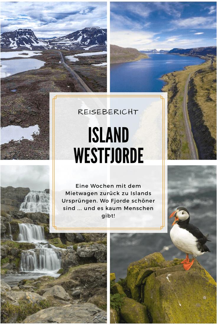 Pinterest Pin | Island Westfjorde