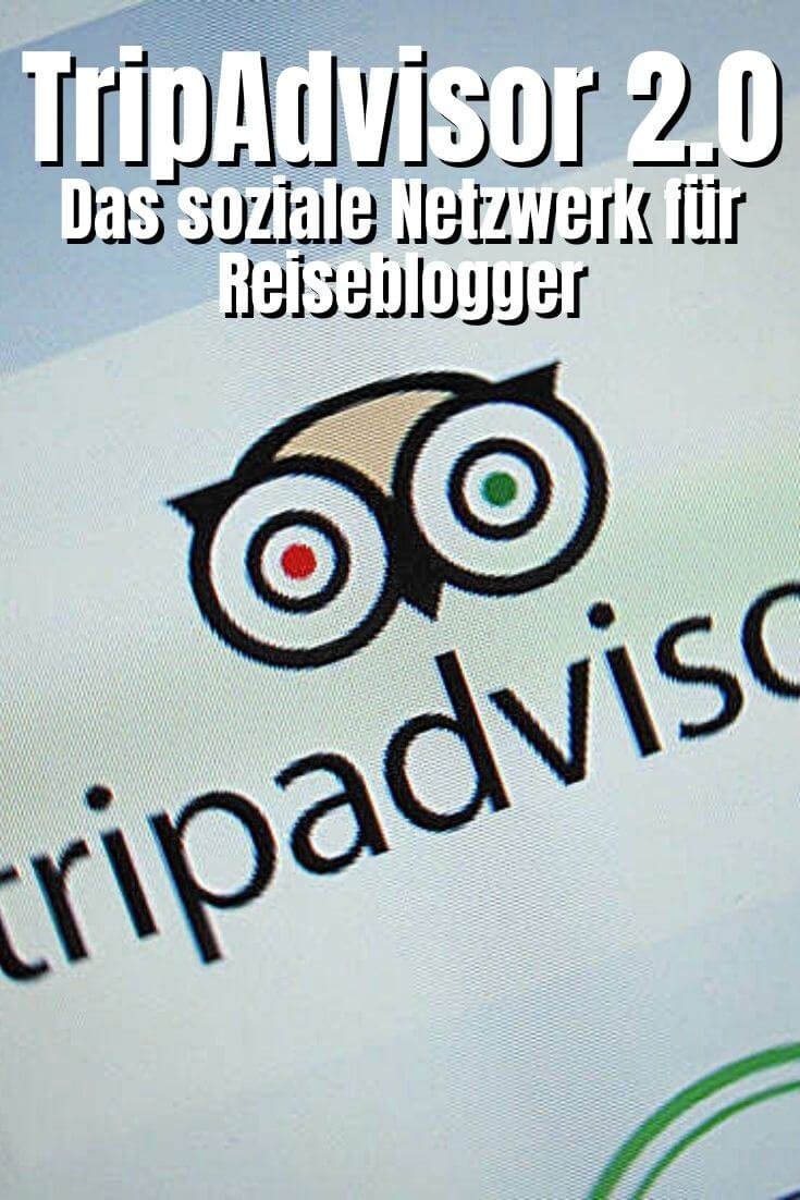 Pinterest Pin - Tripadvisor goes Social Media