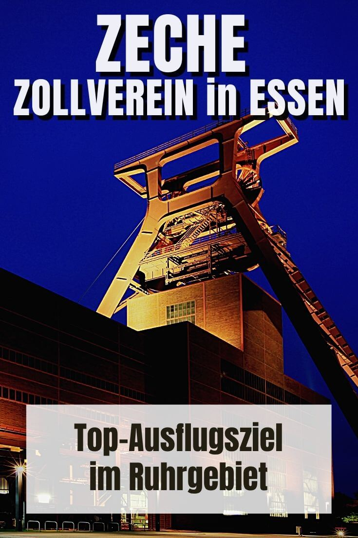 Zeche Zollverein Essen | Pinterest Pin