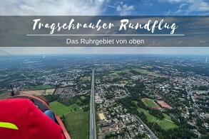 Tragschrauber Rundflug über das Ruhrgebiet