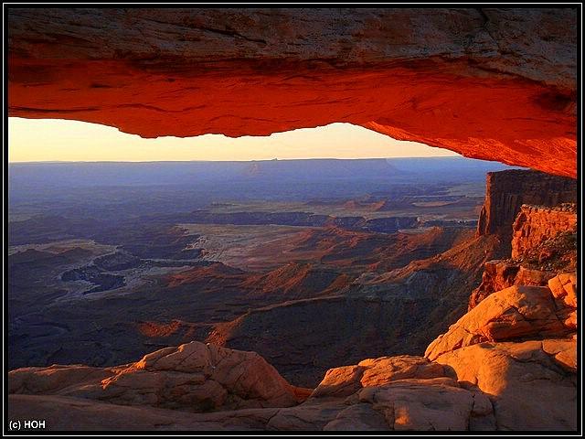 Mesa Arch beim Sunrise