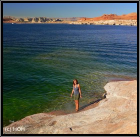 Unten am Lake Powell