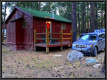 Unsere Cabin in Jacob Lake für diese Nacht