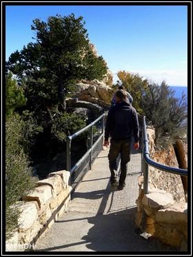 Der Trail am Rim entlang