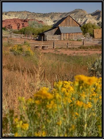Alte Scheune beim Kodachrome Basin State Park