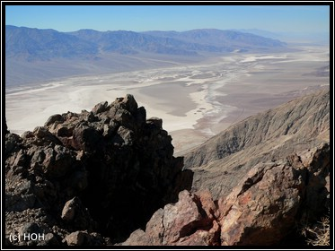 Der höchste Punkt im Park ... Dantes View