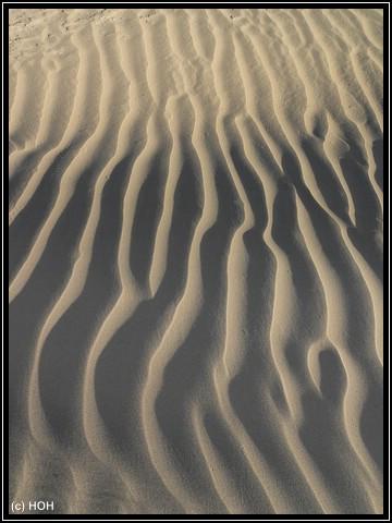 Die Dünen bei Stovepipe Wells am frühen Morgen