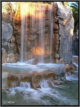 Wasserfall beim Mandalay Bay