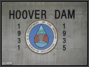 Hoover Damm Sign