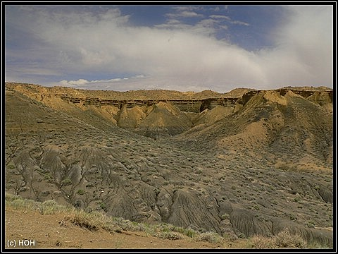 Badlands beim Coalmine Canyon