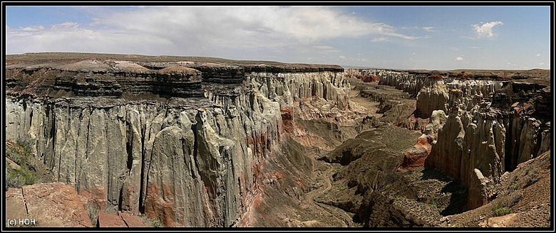 Lower Coal Mine Canyon Panorama